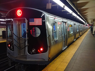 2018 Bombardier R179 Car 3153 on the (C) at 168 Street | by BM5 via Woodhaven (Main)