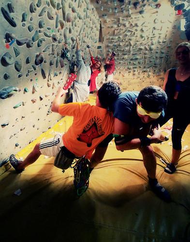 Fantasyclimbing corso di arrampicata il deposito di zio Paperone 25