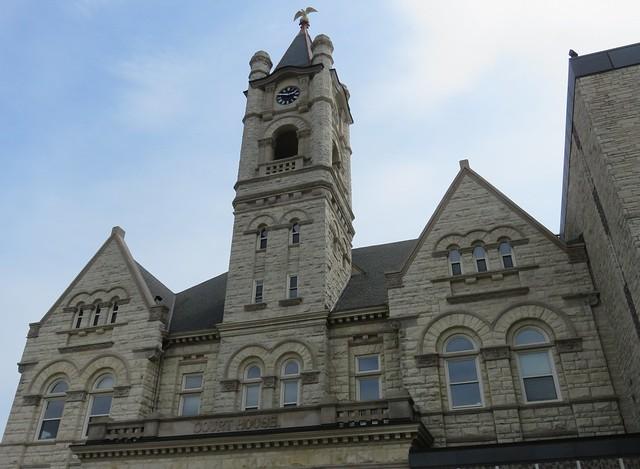 Ozaukee County Courthouse Detail (Port Washington, Wisconsin)