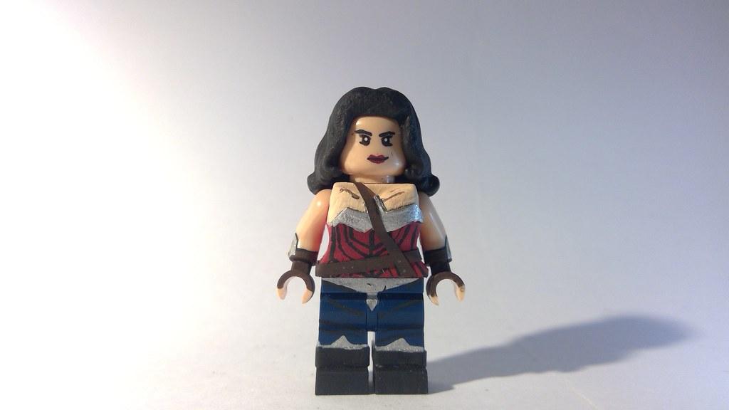 Custom LEGO DC: Wonder Woman   A pretty simple figure inspir…   Flickr