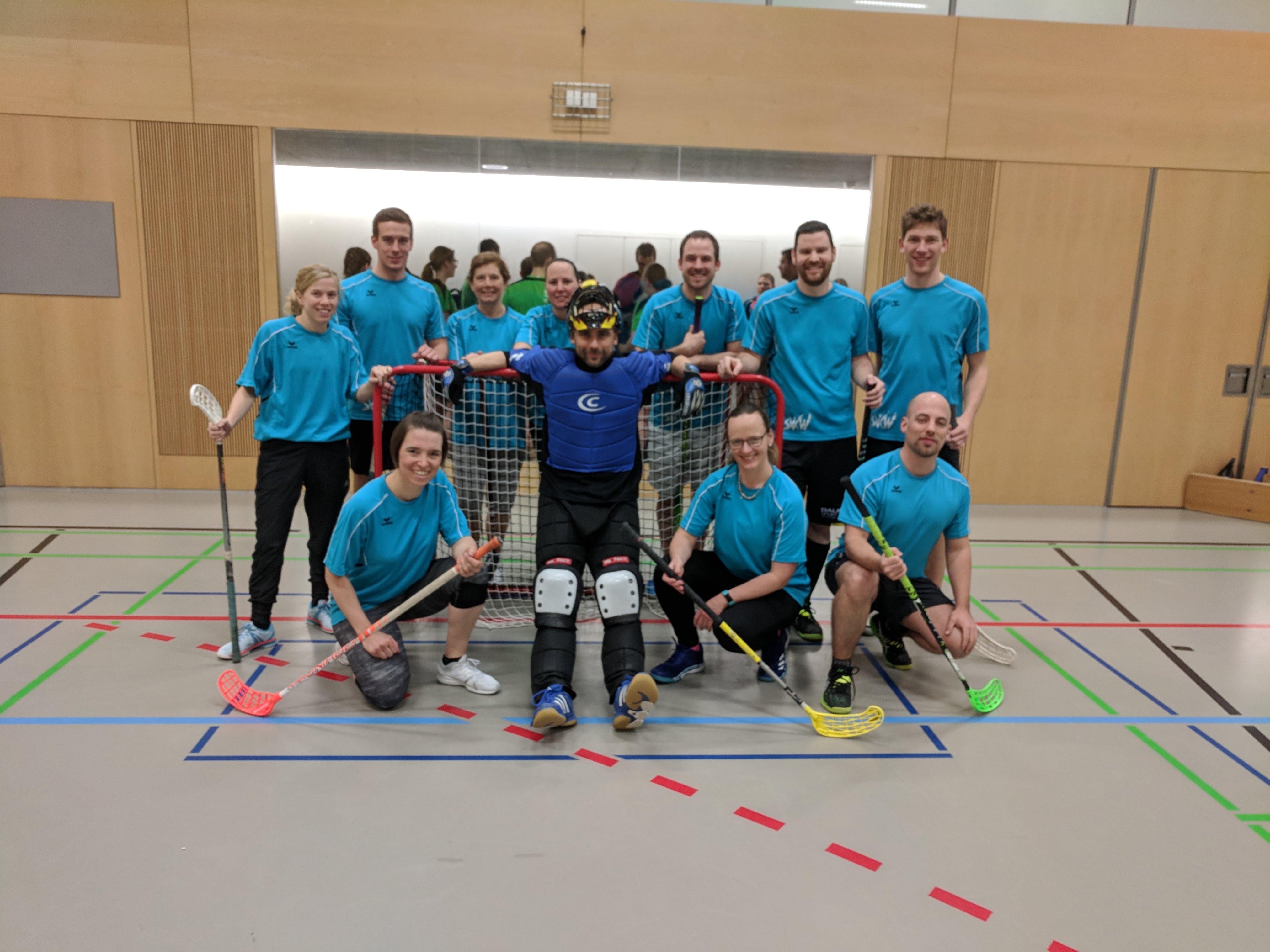 Kreisunihockeyturnier Aktive Mixed (Niederrohrdorf)