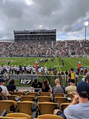 Navy at UCF, 3rd Quarter