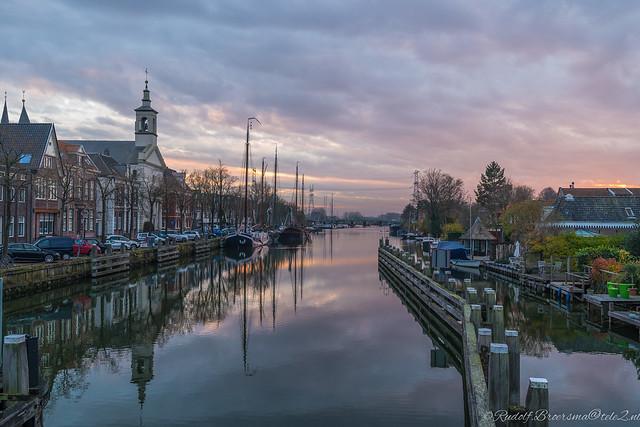 Harbor centre of  Muiden - Netherlands