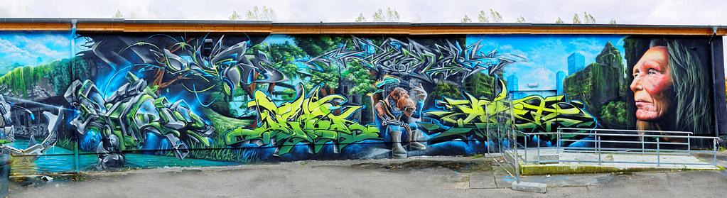 Graffiti 2017 im Freiland Potsdam