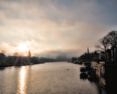 One fine morning on the Amstel | by namita_nl