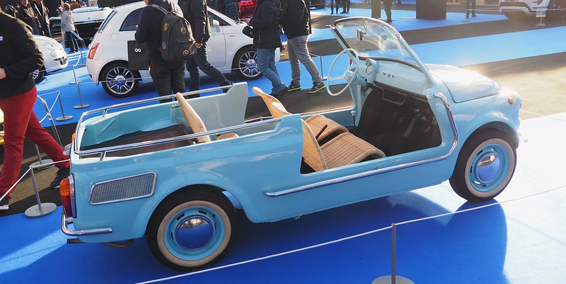 "FIAT 500 Giardiniera Jolly ""Spiaggina"" 1958/1965 Carrozzeria Ghia 32032208477_883d151c03_c"
