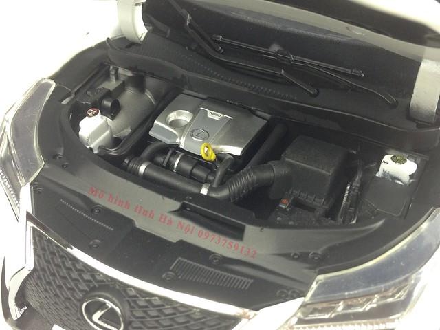 1 18 mo hinh tinh Paudi Dealer Lexus RX200T qua tang sang trong y nghia dan ong ha noi viet nam diecast 118 (16)