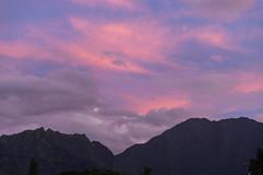Sunset Kauai Hawaii pano