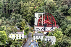 IM Isle of Man - the Laxey Wheel