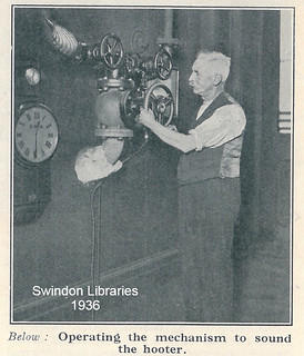 1936: The GWR Swindon Works Hooter | by Local Studies, Swindon Central Library