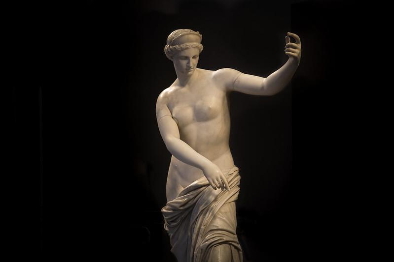 Inauguración Afrodita de Capua en el Bellas Artes