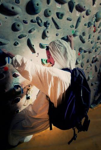 Fantasyclimbing corso di arrampicata il deposito di zio Paperone 5