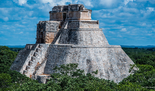 2018 - Mexico - UXMAL - Magician's Pyramid | by Ted's photos - For Me & You