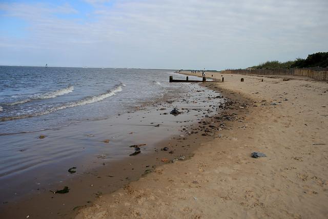 The beach at Humberston