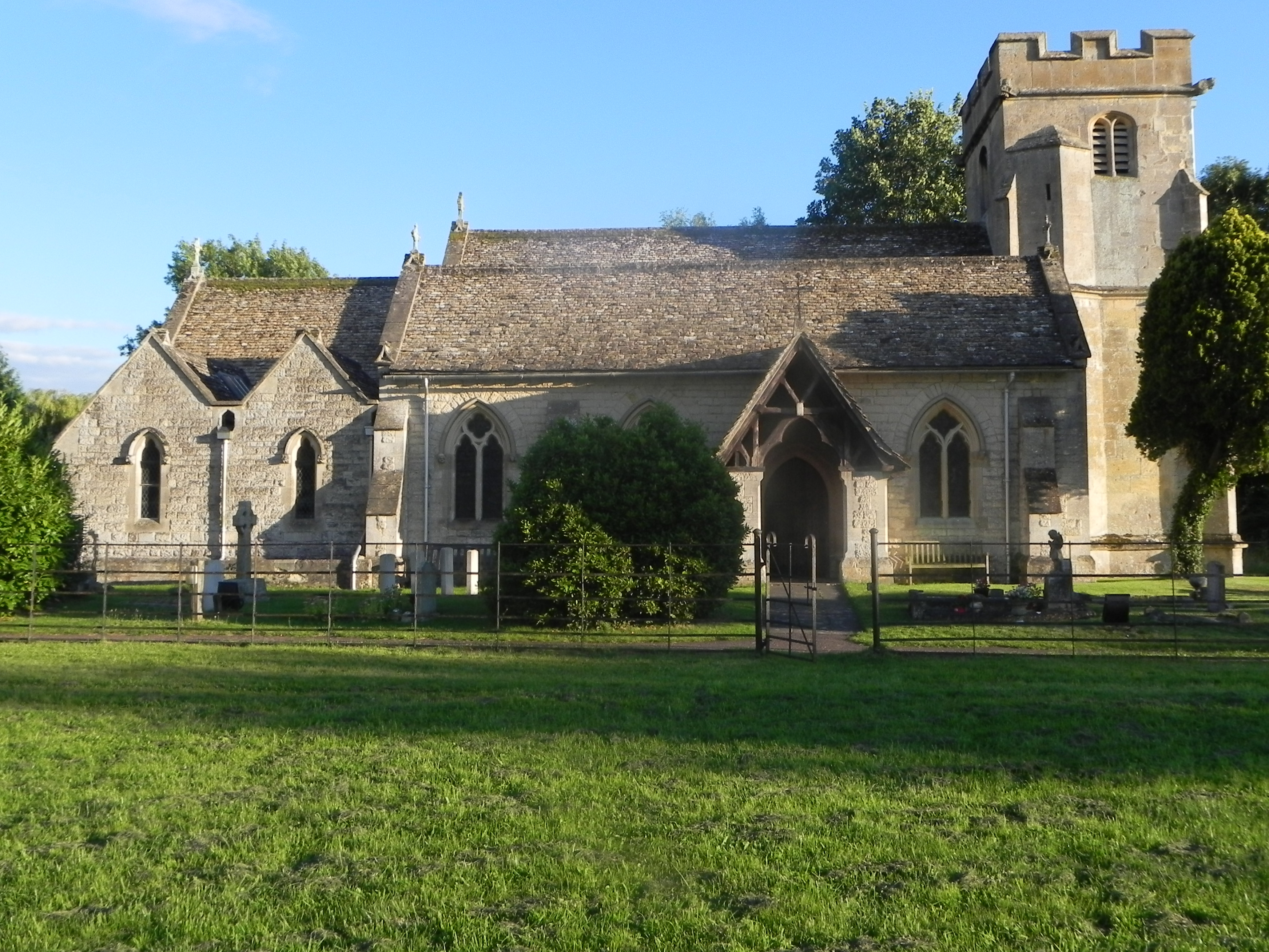 St Mary and Corpus Christi, Down Hatherley, Gloucestershire