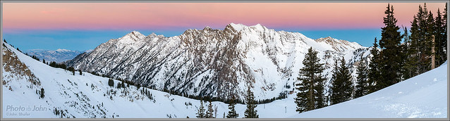 Snowy Pre-Dawn at Alta