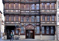Hildesheim, Niedersachsen, Marktplatz, Wedekindhaus, lower façade