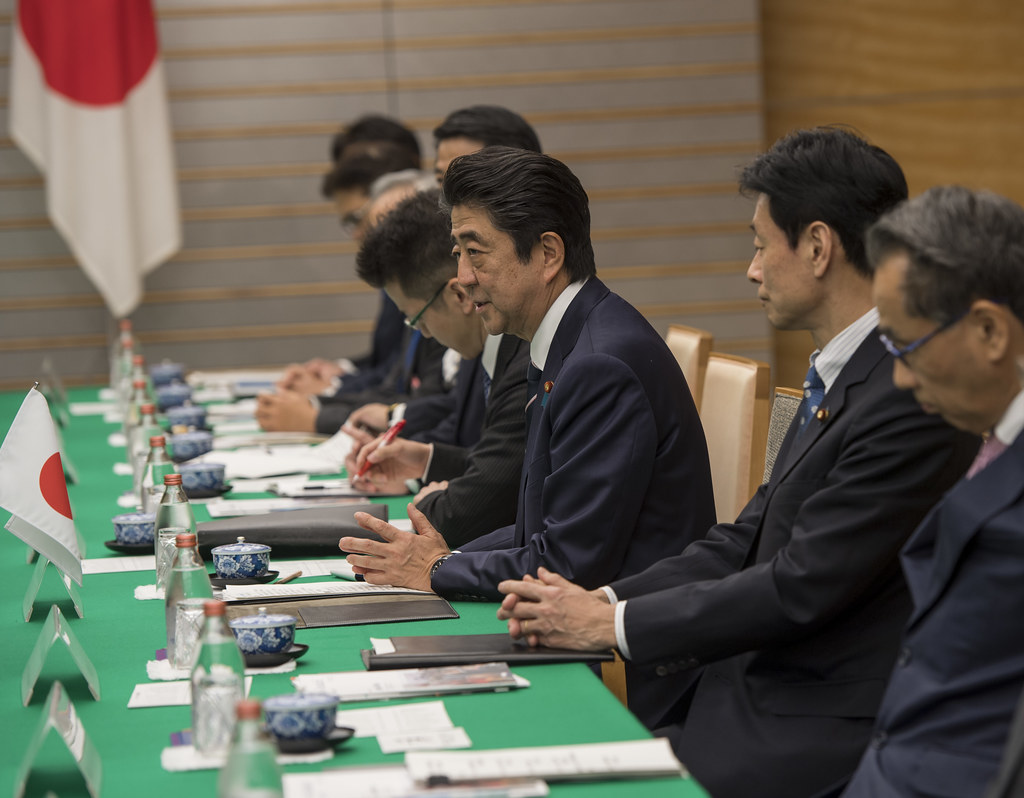 President Kagame holds bilateral talks with Prime Minister Shinzo Abe of Japan   Tokyo, 8 January 2019