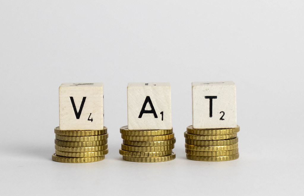 VAT text on coins | ✅ Marco Verch is a Professional Photogra ...