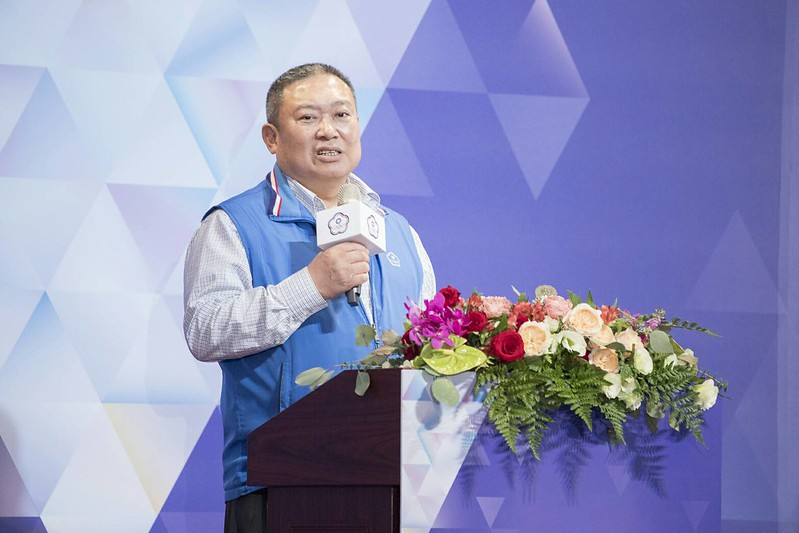 中華奧會主席林鴻道。(資料照。中華奧會提供)
