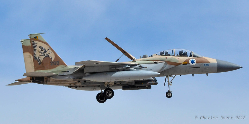 F-15I  Ra'am 269  69 Sqn IDF/AF - Israeli AF