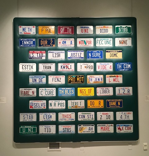 Consitution in license plates | by jessamyn