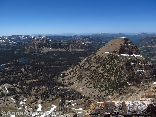 Views from Bald Mountain in the High Uinta Mountains of Utah