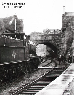 1961: Swindon Town Station (Old Town) - Loco 5306 | by Local Studies, Swindon Central Library