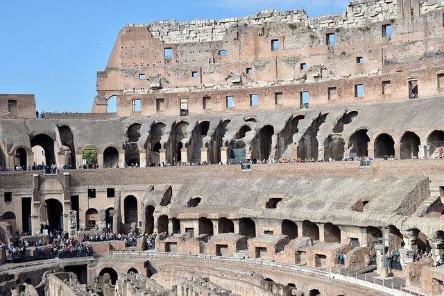 Colosseum in Rome , Martin's photographs , Rome , Italy , October 27. 2014