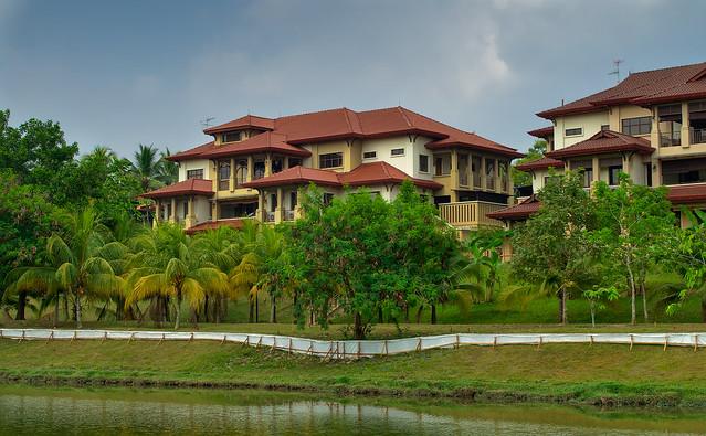Lakeshore villas, Putrajaya, Malaysia