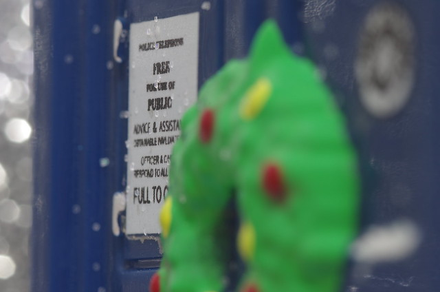 Safety: Police Box Ornament, Christmas Special