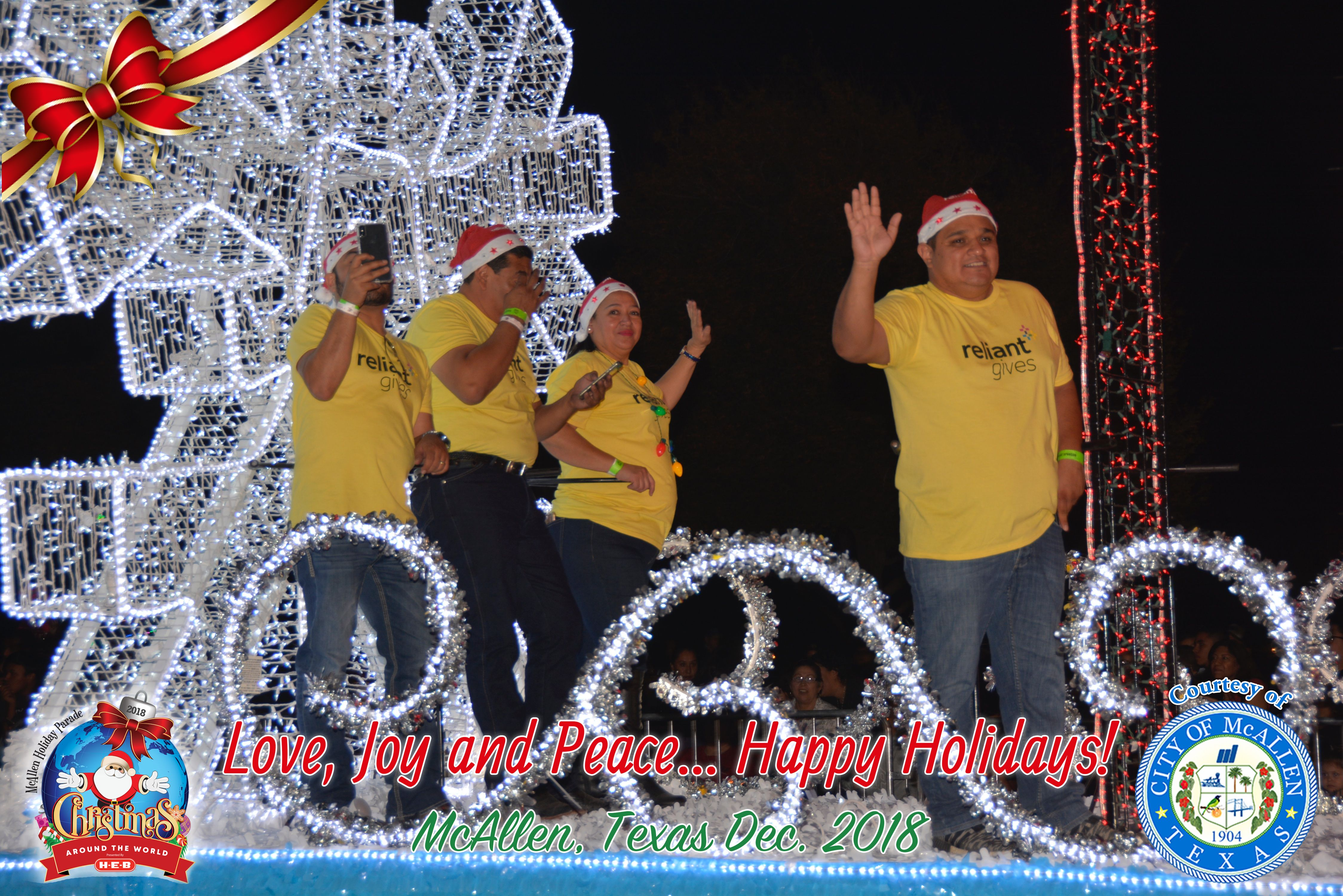 McAllen Holiday Parade 2018 — Part 7