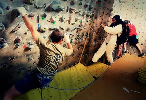 Fantasyclimbing corso di arrampicata il deposito di zio Paperone 11