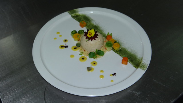 Continental platings displa by Post gardauate in culinary arts budding chefs