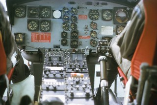 1973 Iroquois NZ3808 heading from KL to Tengah 115 knots, 1000', straight and level, chews on the radio