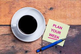 Plan your week   by wuestenigel
