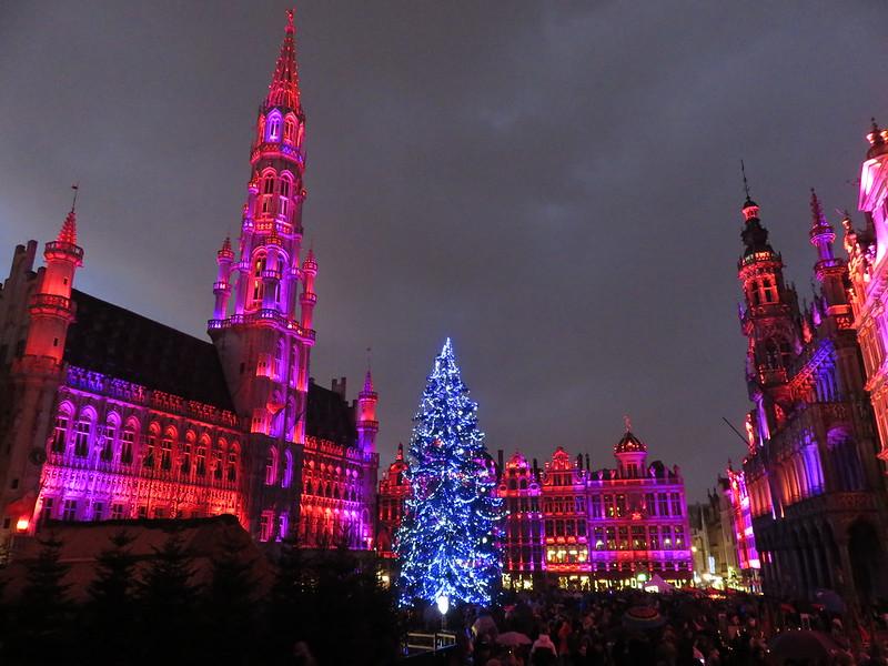 Brussels Christmas Illuminations