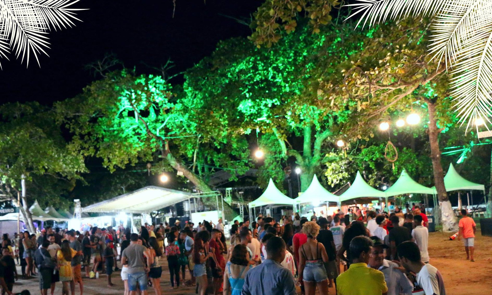 Luau com Ruy Galdino dá início às festas de final de ano em Caravelas (1)