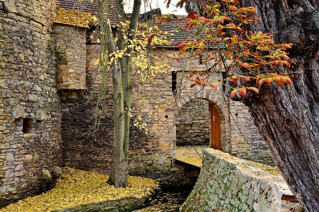 Herbst auf Burg Schkölen