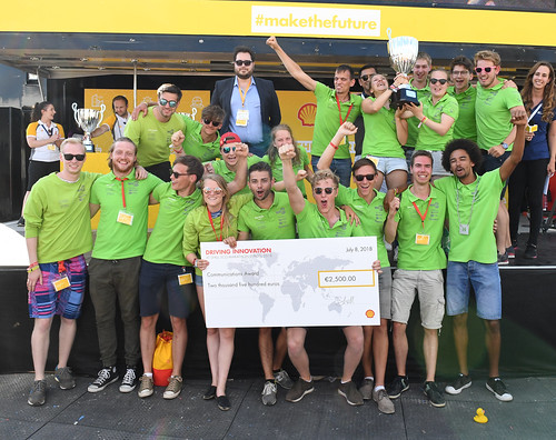 GTT won the Communications Award at SEM 2018 | by Green Team Twente