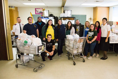 NRHH Helping Halls Food Collection | 11/9/18