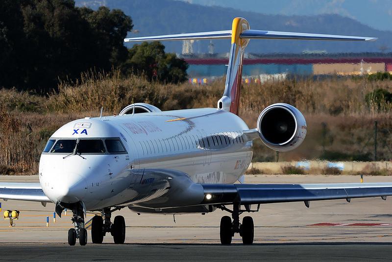 AIR NOSTRUM EC-MXA BOMBARDIER CRJ 1000 BCN/LEBL
