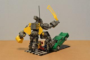 Big Gun Mecha | by crises_crs