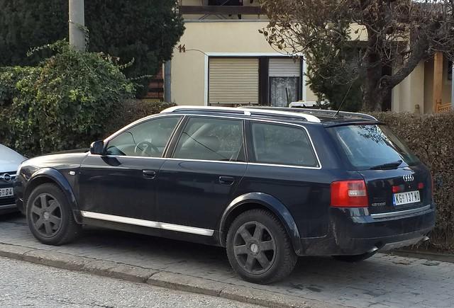 2001 Audi A6 C5 Allroad