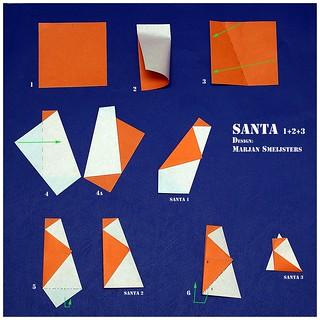 """""""Santa 1+2+3"""" (Marjan Smeijsters)"""