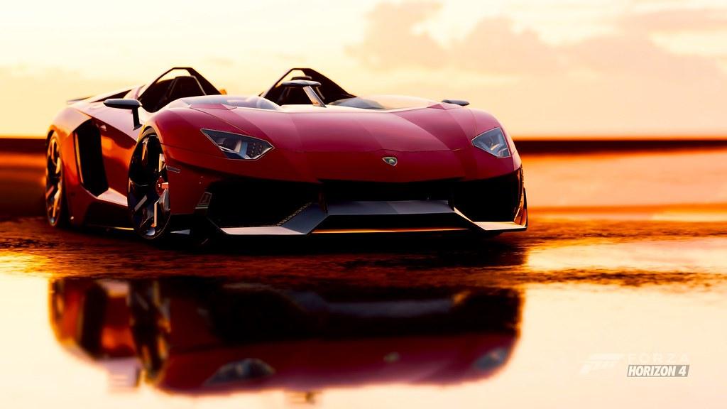 Lamborghini Aventador J Fh4 Geovani Alves Flickr