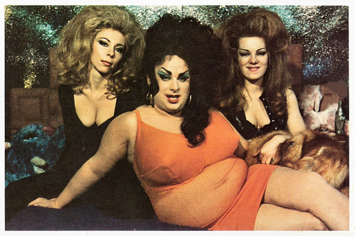 Divine, Cookie Mueller, and Susan Walsh in Female Trouble (1974)