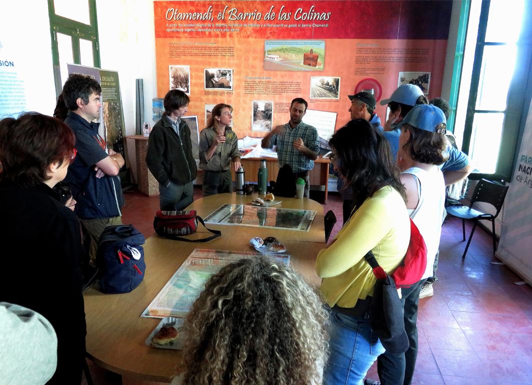 Conversatorio en el Parque Nacional Ciervo de los Pantanos