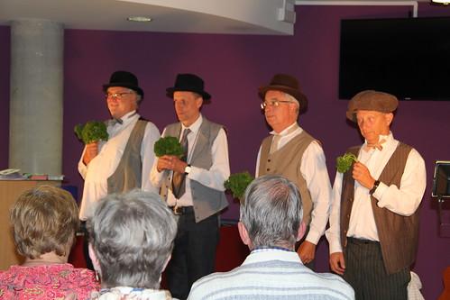 Le Newton's Quartet, chants et humour dans la tradition Barbershop