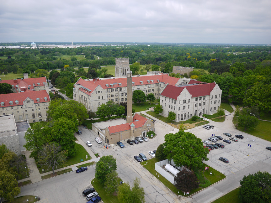 Mount Mary University >> Mount Mary University Looking West Over The Mt Mary Unive